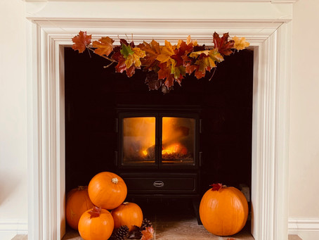 This Autumns Fireplace