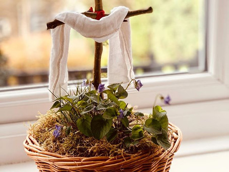 Our religious Easter Celebration Basket