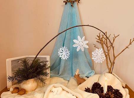 Winter Seasonal Table