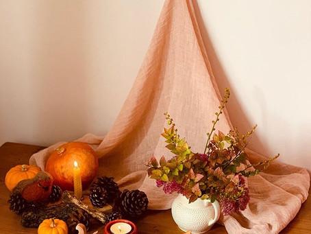 Warm Autumn Seasonal Table