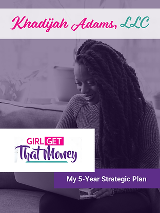 Girl Get That Money Strategic Plan Cover