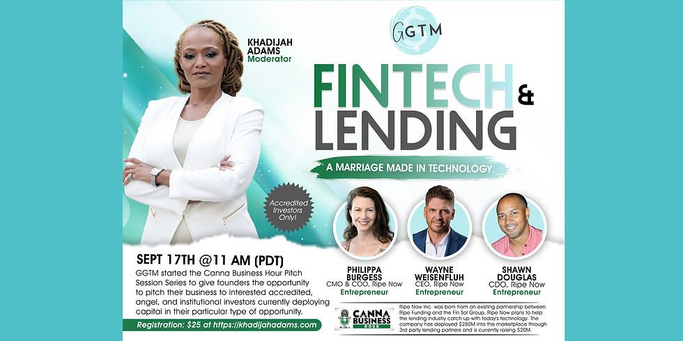 Fintech & Lending - A Marriage Made in Technology!