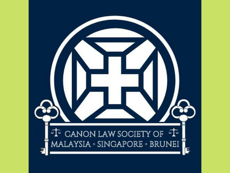 CANON LAW SOCIETY OF MALAYSIA-SINGAPORE-BRUNEI (JOURNAL 2019)