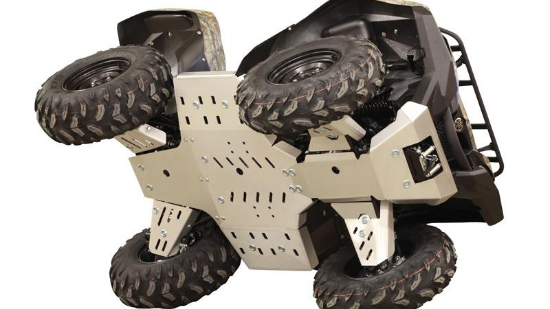 2014-2015 Grizzly 700 Aluminium Full Skid Plate