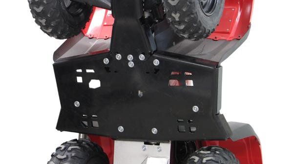 Honda TRX 500 FE (2014+)Skid plate full set (HDPE)