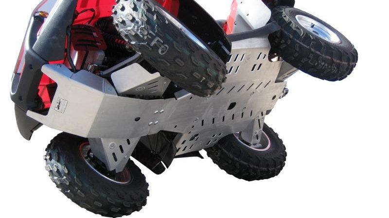 Honda TRX 680 Rincon (2015+) Skid plate full set (aluminium)