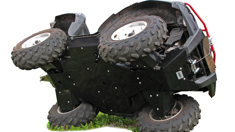 Suzuki KingQuad EPS  500 or 750 HDPE Plastic Full Skid