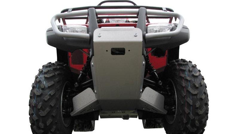 Honda TRX 500 FA / FE (-2011) Skid plate full set (aluminium)