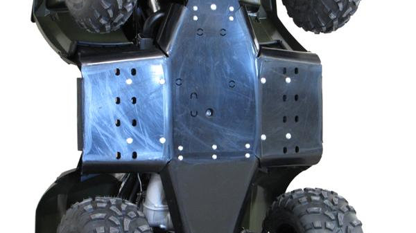 2011-2014 Full HDPE Skidplate Sportsman 400 / 500 / 800