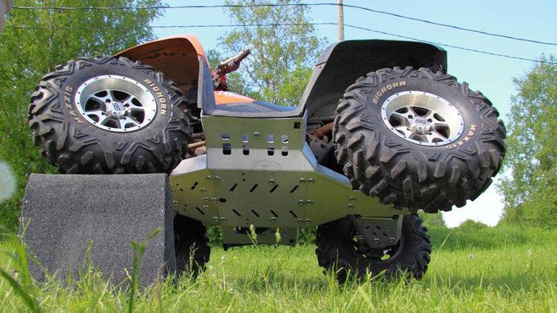 Full Aluminium Skidplate Arctic Cat 1000 XT