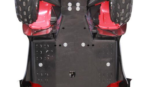Honda TRX 650 / 680 (-2014)  Skid plate full set (HDPE)