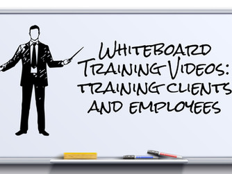 Whiteboard Training Videos for Clients and Employees