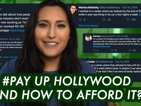 #PayUpHollywood, Working in Hollywood… and Affording it