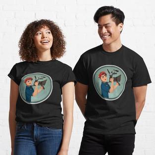 Rosie the Filmmaker T-Shirt