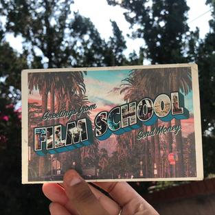 Greeting From Film School Postcard