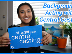 Being a Background Actor for Central Casting