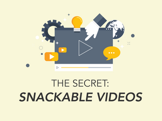 The Secret of Snackable Videos