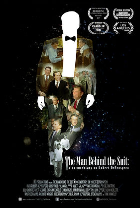 The Man Behind the Suit movie poster