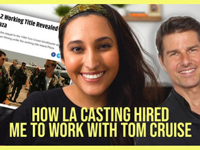 LA Casting Review and Working as an Extra on Top Gun: Maverick