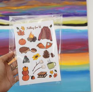 Fall Sticker Pack