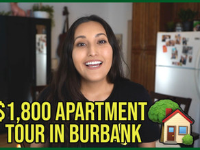What an $1,800 Apartment Looks like in Burbank, CA
