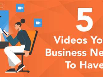 5 Videos Your Business Needs