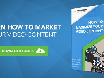 Learn How to Market Your Videos {Free E-book}