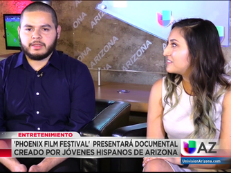 TV Interview on UNIVISION