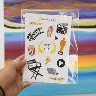 Filmmaker Sticker Pack