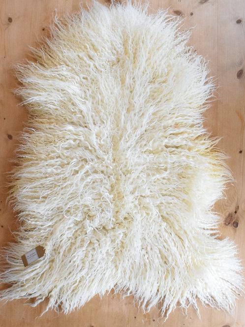 Luxury Whiteface Dartmoor Mule Sheep Skin 2nds