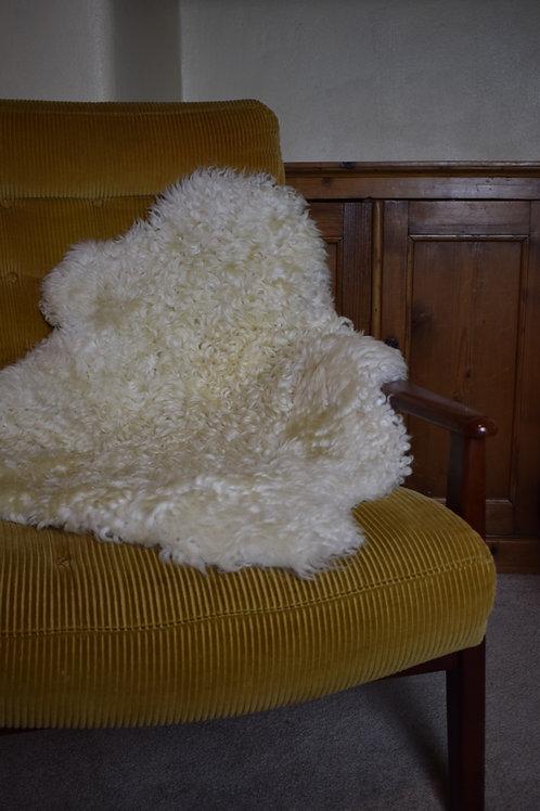 Whiteface Dartmoor Shearling Sheepskin