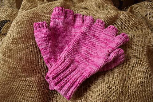 Adult fingerless gloves