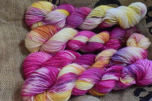 Hand dyed Masham Dk 100g - 'Summer is  Coming'