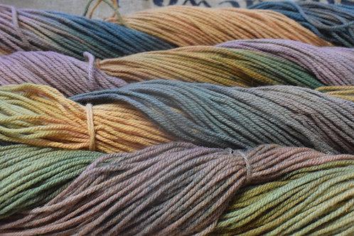 Hand dyed Yarn - Autumn 100g DK Medium 3fold12ysw