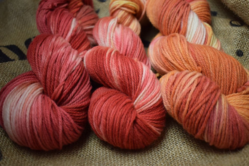 'Bracken' Hand Dyed Merino Yarn Dk 100g