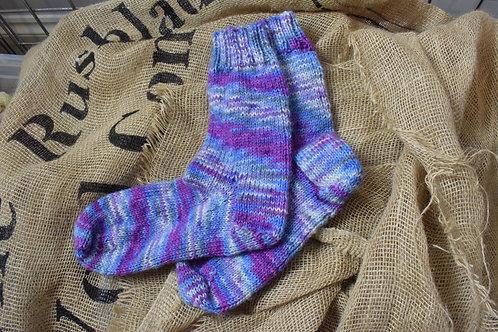 Hand knitted socks