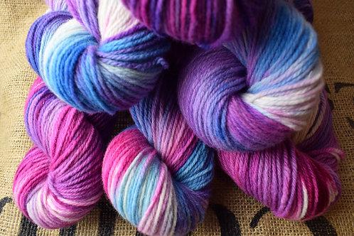'Zingy Berry' Merino Yarn Dk 100g
