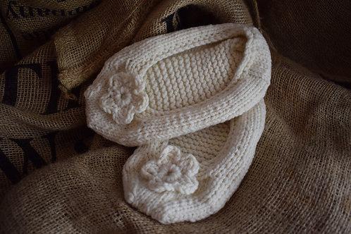 Knitting Pattern - Ballet Slippers