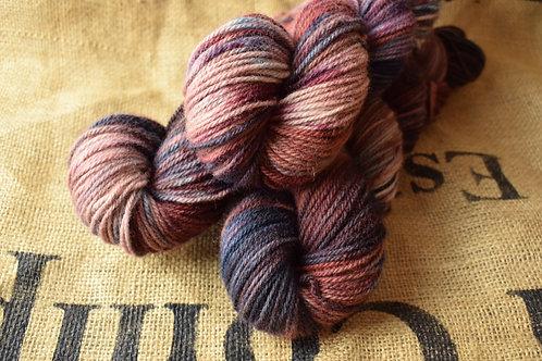 'Skyline' Hand dyed Dartmoor Merino Dk 100g