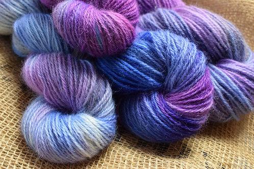 Hand dyed Masham Dk 100g - 'Winter Sky'