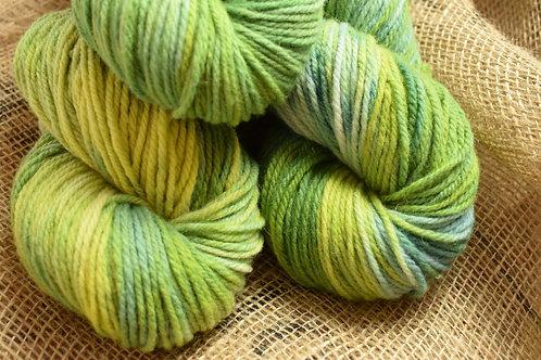 'Spring' Hand Dyed Merino Yarn Dk 100g