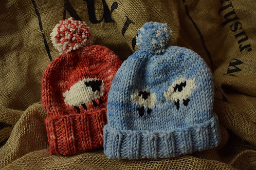 Childrens Merino Hats - sheep