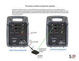 Wireless Companion Speaker VM2 TO VM2 72
