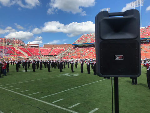 School Marching Bands rely on Sound Projections
