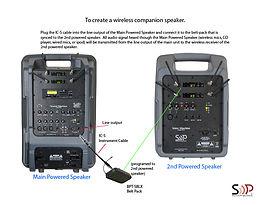 Wireless Companion Speaker SM5 TO VM2 10