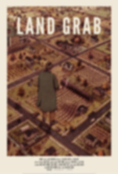 Land Grab Movie Poster Urban Farming Detrot Hantz Farms Woodlands John Hantz Mike Score Sean O'Grady Atlas Industries