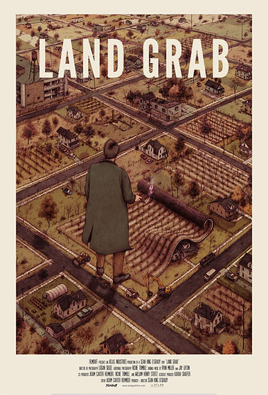 Land Grab Movie Poster Urban Farming Detrot Hantz Farms Woodlands John Hantz Mike Score Sean O'Grady Atlas Industries