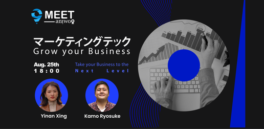 【Aniwo Meet #5】【Marketing Tech】マーケティング技術の未来|グローバル市場から予測する2021年以降のトレンド