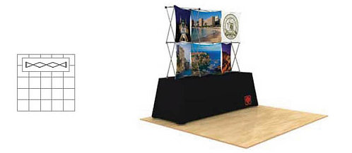 3D Snap 3x2 Table Top Kit | 3DSNAPKIT3