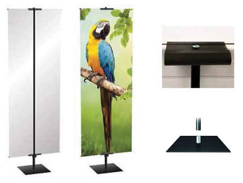 Silverstep Retractable Banner Stand 48